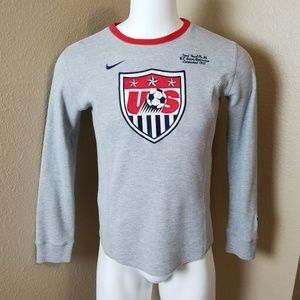 Nike US Soccer Thermal Pullover Small